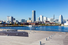 Yokohama skyline in Japan Royalty Free Stock Photo