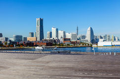 Yokohama skyline in Japan Stock Images