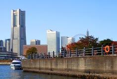 YOKOHAMA SKYLINE IN JAPAN Royalty Free Stock Image