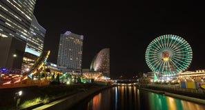 Yokohama skyline stock photos