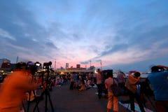 Yokohama : Sparkling Twilight Stock Image