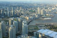 Yokohama stad. Arkivfoton