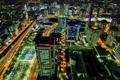 Yokohama stad. Arkivbilder