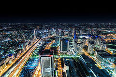 Yokohama-Stadt stockbild