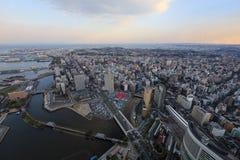 Yokohama-Stadt Lizenzfreie Stockfotos