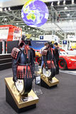 Yokohama tire, samurai Royalty Free Stock Photo