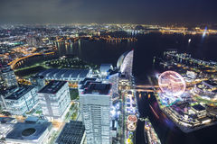 Yokohama top view Stock Photo