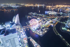 Yokohama top view Royalty Free Stock Images