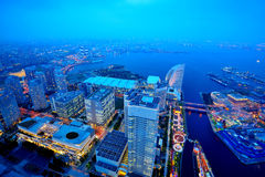 Yokohama at twilight Royalty Free Stock Photography