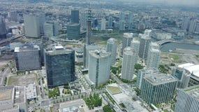 Yokohama-Wolkenkratzer Stockfotos