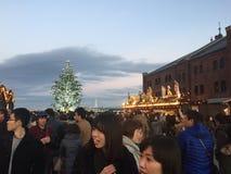 Yokohamakerstmis Stock Foto