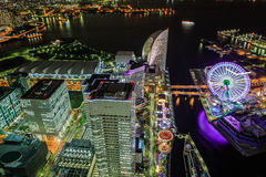Yokohamastad. Stock Afbeeldingen