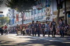 Yokosuka Festival traditional Japanese royalty free stock images