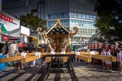 Yokosuka Festival traditional Japanese stock photo