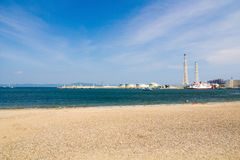 Yokosuka Thermal Power Station stock images