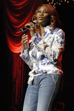 Yolanda Adams performing live. Royalty Free Stock Images