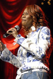 Yolanda Adams performing live. Royalty Free Stock Photography