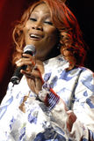 Yolanda Adams performing live. Stock Images