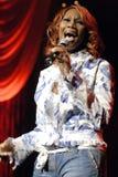 Yolanda Adams performing live. Stock Image
