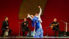 Yolanda Osuna - flamencodansare Arkivbilder