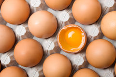 Yolk de ovo imagens de stock royalty free