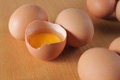 Yolk de ovo imagem de stock royalty free