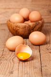 Yolk of egg Royalty Free Stock Image