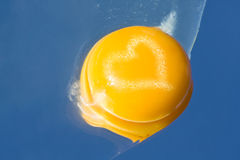 Yolk Heart Stock Images