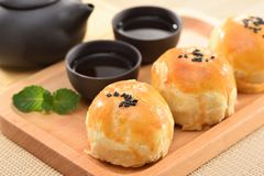 Yolk pastry Egg yolk shortcake Royalty Free Stock Photos