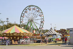 Yolo County Fair. Woodland, California, USA,  20 August 2016. The Yolo County Fair, the largest and oldest free gate fair in California,  happens every August in Royalty Free Stock Photos