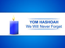 Yom Hashoah Abstract royalty illustrazione gratis