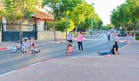 Yom Kippur in Tel Aviv, Israel Stock Images