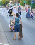 Yom Kippur in Tel Aviv, Israel Stock Photo