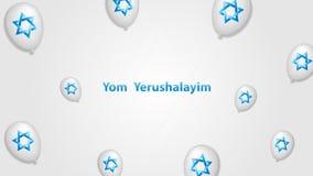 Yom Yerushalayim ilustração do vetor