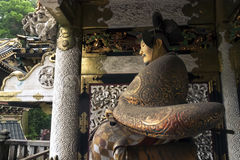 Yomeimon gate fragment Royalty Free Stock Images