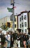 Yomo Toro street dedication Royalty Free Stock Photography