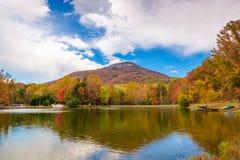 Yonah山,乔治亚,美国 免版税库存图片