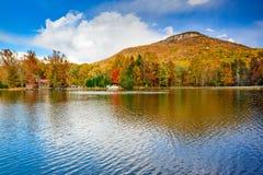 Yonah Mountain in North Georgia stock image