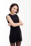Yong相当亚裔女商人 免版税库存图片