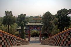 Yong ένας ναός, Bejing, Κίνα Στοκ φωτογραφία με δικαίωμα ελεύθερης χρήσης