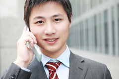 A yong Asiatic businessman Stock Photo