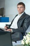Yong businessman Stock Image