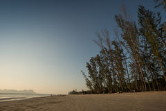 Yong Ling Beach, Sikao, Trang, Ταϊλάνδη Στοκ Φωτογραφίες