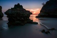 Yong Ling Beach, Sikao, Trang, Ταϊλάνδη Στοκ Εικόνες