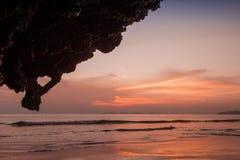 Yong Ling Beach, Sikao, Trang, Ταϊλάνδη Στοκ εικόνα με δικαίωμα ελεύθερης χρήσης