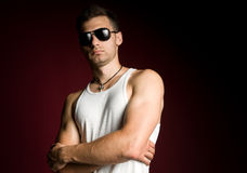 Yong male portrait Royalty Free Stock Photography