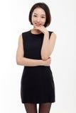 Yong nätt asiatisk affärskvinna Fotografering för Bildbyråer
