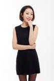 Yong nätt asiatisk affärskvinna Arkivbilder