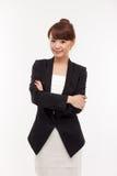 Yong pretty Asian business woman Stock Photos