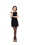 Yong pretty Asian business woman Stock Photography